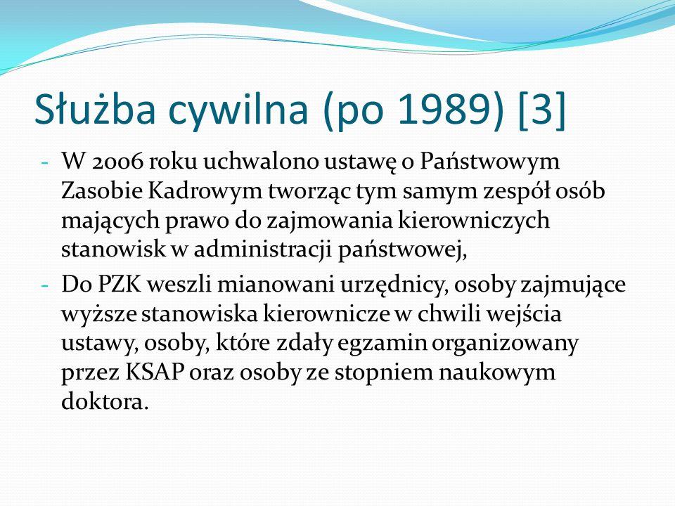 Służba cywilna (po 1989) [3]